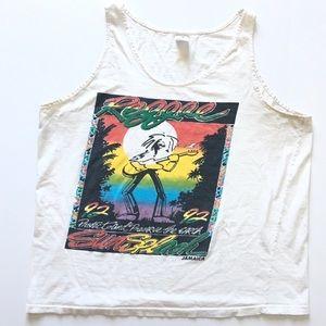 VTG 1992 Reggae Festival Tank T-Shirt